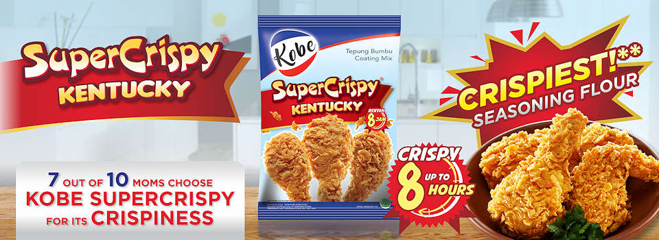 Kentucky SuperCrispy | Crispy coating for fired chicken